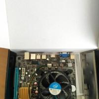 PAKET BARU: Motherboard LGA 1155 H61 + Processor G620 / G630 + Fan