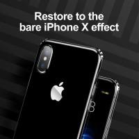 TPU Silikon Soft Case iPhone X Ten - BASEUS Simple Anti Fall Original