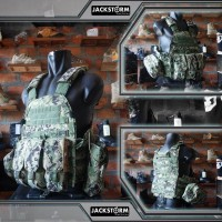 Vest Emerson 6094a with 3 Pouch AOR2