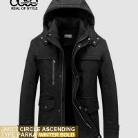 Promo Jaket cASC Parka Winter Bold Black
