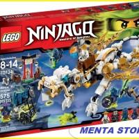 LEGO Ninjago # 70734 Master Wu Dragon Mainan Ninja Go Naga Original