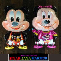 Balon Mickey Mouse Badan Foil / Balon Mickey Mouse Full Body Foil