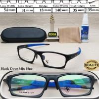 kacamata minus OAK*** MAGSWITCH frame kacamata sport minus frame cowok