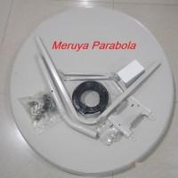 Dish Parabola Solid Offset 80cm C band/Ku Band