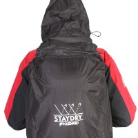 Cover Bag Mantel Tas Include Hoodie 20-25 L Cozmeed Staydry