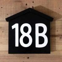 Nomor Rumah Kayu Atap 2020