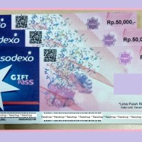 Voucher Sodexo 50 Rb Bisa utk Alfamart Gramedia Carefour