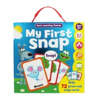 Harga my first snap early learning games with 72 press out snap | WIKIPRICE INDONESIA