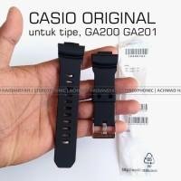 Strap GA200 Black | Stap GShock GA200-1A Black | Band GShock GA201-1A