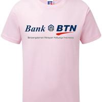 Fashion / Atasan / Kaos / BANK BTN PINK