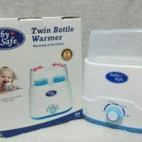BABY SAFE TWIN BOTTLE WARMER & STERILIZER PEMANAS STERIL BOTOL SUSU