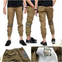 Celana Panjang Jogger Apikasi / Long Pants Jogger Apk Original (Karet)