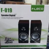 Harga speaker fleco f 019 speaker   WIKIPRICE INDONESIA