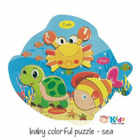 Baby Colorfull Puzzle - Sea