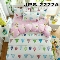Bed Cover Set Katun Jepang SP