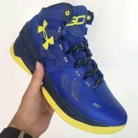 Sepatu basket Under Armour Curry 2 Dubnation Blue (Grade Ori)