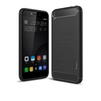 Hard Soft Case Asus Zenfone Live Casing HP IPAKY Carbon Armor Silikon
