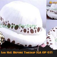 Topi Anime One Piece Trafalgar Law Hat Before Timeskip (GA OP 07)