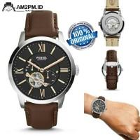 Suplier Jam Tangan Fossil Townsman Automatic Brown Leather ME3061P Ori