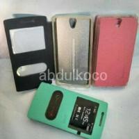 new Oppo Fine5 Fine 5 Mini R827 Leather Case Sarung Hp FlipShell