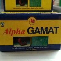 ALPHA GAMAT GOLD Original,Kapsul Gamat Plus Spirulina