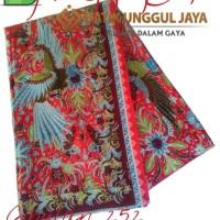 Harga kain batik pekalongan primisima halus cibulan 252 merah unggul | Hargalu.com