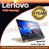 Lenovo Yoga 520-14IKB-3ID Gold- Ci3-7100U,4GB,1TB,GT940MX 2GB,14