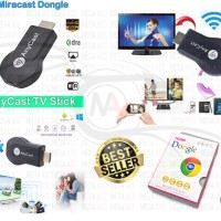 Wireless HDMI Dongle Anycast - streaming dari hp ke tv