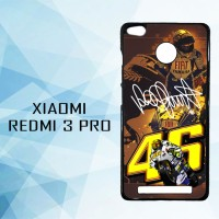 Casing Hardcase HP Redmi 3 Pro Valentino Rossi Walpaper X4994