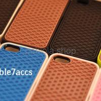 New Casing case Iphone 5 Vans sol waffle Coklat Putih