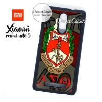 Casing Xiaomi Redmi Note 3 Delta Sigma Theta Hard Case Custom