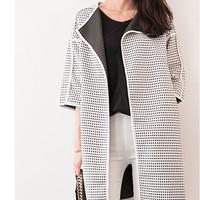 blazer outer coat cardigan jaket panjang outwear korea bomber model