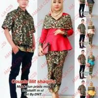 Harga baju batik couple sarimbit seragam pesta hijab muslim kebaya   antitipu.com