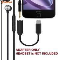 Konektor USB Type C - 3.5 mm Earphone Headset Audio Adapter