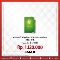 Microsoft Windows 7 Home Premium 32Bit 1PK