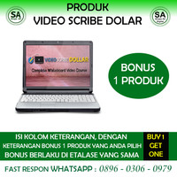 Video Scribe Dollar | Bonus 1 Produk