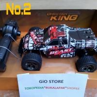 Buggy Mobil remot control 2.4ghz Skale 1.18 mobil balap mainan Anak