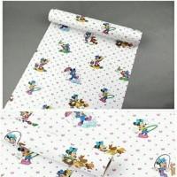 Harga wallpaper sticker dinding mickey mouse ukuran | antitipu.com