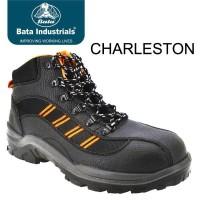 NEW Sepatu Safety Shoes Bata Charleston pria cowok keren kerja kuliah