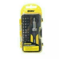 krisbow set obeng presisi 38 pcs precision/profesional tools presisi