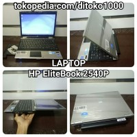 Laptop HP EliteBook 2540p Stenlist Body Intel Core i7 Ram 4GB Almunium