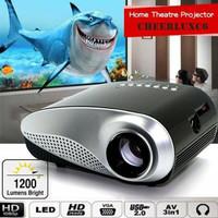Proyektor HD 1080 TV tuner AV HDMI MOVIE multimedia LED