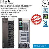 DELL T5810 MT Xeon E5-1630v4 PC ONLY