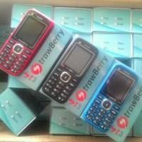 Handphone GSM Dual Sim HP Strawberry ST3 ST-3 Garansi 1 Tahun