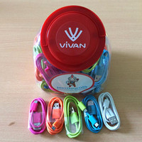 TOPLES VIVAN KABEL CBM-80 For Micro Usb Warna 1 toples isi 50 pcs