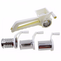 3 in 1 FAOKLEMAN PARUTAN Hand Rotary Multifunctional Grater Set 3IN1