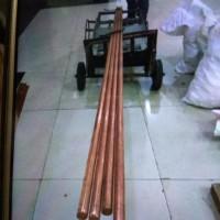 Cuci Gudang!! Rod Grounding Penangkal Petir Tembaga Pjg 2 Meter