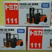 Produk Terlaris Diecast Alat Berat Forklift TOYOTA GENEO Miniatur