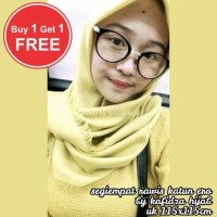 termurah PROMO Jilbab segi empat katun rawis square hijab square rawi