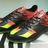 d7229839067 (Murah) Adidas Messi 2016 Black - IC  Sepatu Futsal   Replika Import